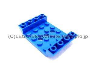 #60219  逆スロープ 45° 6x4 穴3  【青】 /Slope 45° 6x4 Double Inverted :[Blue]
