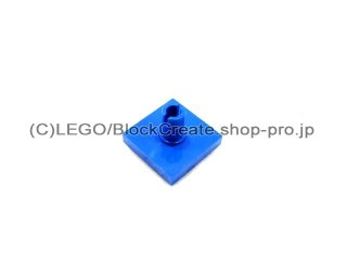 #2460 タイル 2x2 垂直ピン  【青】 /Tile 2x2 with Vertical Pin  :[Blue]