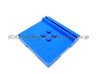 #45522 タイル 6x6x2/3 カードホルダー  【青】 /Tile 6x6x2/3 with 4 Studs and Card-holder  :[Blue]