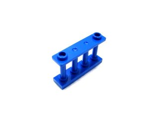 #30055  フェンス 1x4x2  【青】 /Fence Spindled 1x4x2 with 2 Top Studs  :[Blue]