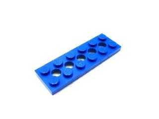 #32001 テクニック  プレート 2x6 穴あき 【青】 /Technic Plate 2x6 with Holes  :[Blue]