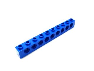 #2730 テクニック  ブロック 1x10 【青】 /Technic Brick 1x10 with Holes  :[Blue]