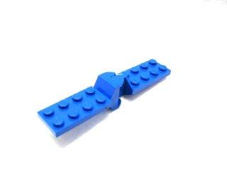 #3639/3640  ヒンジ プレート 2x4 間接ジョイント  【青】 /Hinge Plate 2x4 with Articulated Joint  :[Blue]