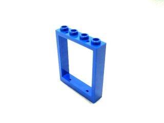 #6154 ドアフレーム 1x4x4 リフト  【青】 /Window 1x4x4 :[Blue]