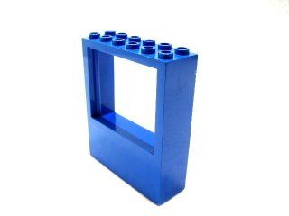 #6236 窓フレーム 2x6x6  【青】 /Panel 2x6x6 with Window Hole :[Blue]