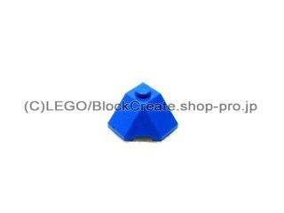 #13548 ウェッジ 2x2  【青】 /Slope 45 Wedge Corner 2x2 :[Blue]