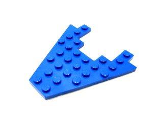 #6104 ウィングプレート 8x8  【青】 /Wing 8x8 with 3x4 Cutout  :[Blue]