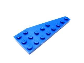 #50305 ウェッジプレート 3x8 左  【青】 /Wing 3x8 Left :[Blue]