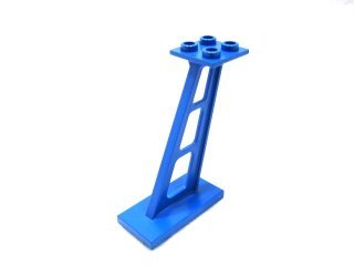 #4476 サポート 支柱 傾斜 5mm幅  【青】 /Support 2x4x5 Stanchion Inclined :[Blue]