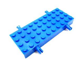 #30076 ホイール ホルダー - ブロック 4x10  【青】 /Brick 4x10 with Wheel Holders  :【Blue】