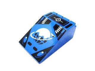 #4474 ウィンドスクリーン 6x4x2 アイスプラネットロゴ  【青】 /Windscreen 6x4x2 Canopy with Ice Planet Logo  :[Blue]