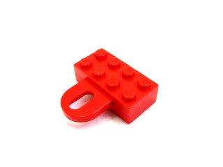 #4748 ブロック 2x4 カップリング,メス  【赤】 /Brick 2x4 with Coupling,Female :[Red]