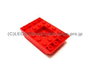 #30183  逆スロープ 45° 6x4   凹型センター  【赤】 /Slope 45° 6x4 Double Inverted  :[Red]