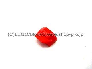 #47458 スロープ ブロック  1x2x2/3 フィン付  【赤】 /Slope Brick  1x2x2/3 with Fin  :[Red]