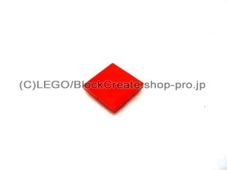 #3068 タイル 2x2 フラット  【赤】 /Tile 2x2  :[Red]