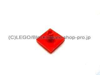 #2460 タイル 2x2 垂直ピン  【赤】 /Tile 2x2 with Vertical Pin  :[Red]