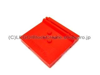 #45522 タイル 6x6x2/3 カードホルダー  【赤】 /Tile 6x6x2/3 with 4 Studs and Card-holder  :[Red]