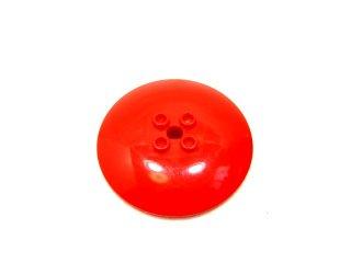 #45729 ラウンド ディッシュ 6x6 凹スタッド  【赤】 /Dish 6x6 Inverted with Hollow Studs  :[Red]