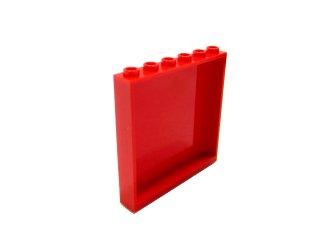 #59349 パネル 1x6x5  【赤】 /Panel 1x6x5  :[Red]