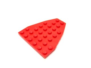 #50303 ウェッジプレート 6x7  【赤】 /Wing 7x6 with Stud Notches :[Red]