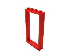#60596 ドア フレーム 1x4x6  【赤】 /Door Frame 1x4x6   :[Red]