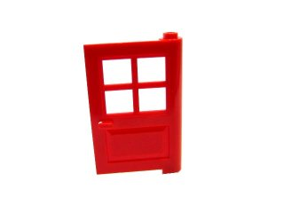 #3861 ドア 1x4x5  【赤】 /Door 1x4x5 with 4 Panes  :[Red]
