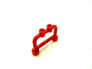 #4083  バー 1x4x2(上部スタッド付き)  【赤】 /Bar 1x4x2 with Studs :[Red]