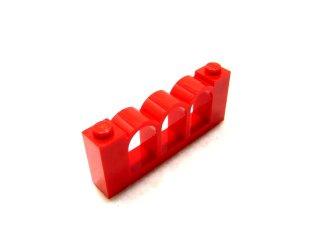 #30077  フェンス 1x6x2  【赤】 /Fence 1x6x2  :[Red]