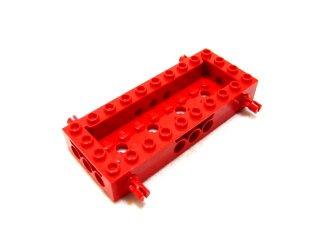 #30643 テクニック ワゴンボトム 4x10x1 1/3 4,9  【赤】 /Wagon Bottom 4x10x1 1/3 4,9 :[Red]