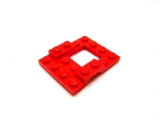 #4211 カー ベース 4x5  【赤】 /Car Base 4x5 :【Red】