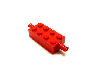 #6249 ホイール ホルダー  ブロック 2x4  【赤】 /Brick 2x4 with Pins :[Red]