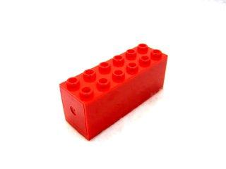 マグネットブロック 2x6  【赤】 /Magnet Brick 2x6  :[Red]