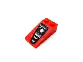 #30363 スロープ ブロック 18° 4x2 (Enzo Ferrari) 右   【赤】 /Slope Brick 18° 4x2 with Decoration  :[Red]