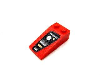 #30363 スロープ ブロック 18° 4x2 (Enzo Ferrari) 左   【赤】 /Slope Brick 18° 4x2 with Decoration  :[Red]