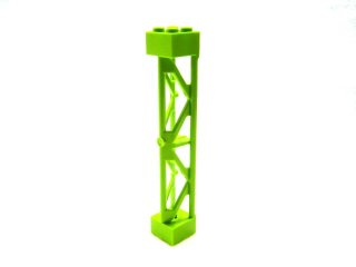 #58827 サポート 2x2x10  三角桁 縦  【黄緑】 /Support 2x2x10 Girder Triangular Vertical  :[Lime]