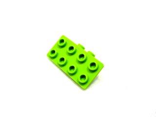 #93274 ブラケット 1x2-2x4 【黄緑】 /Bracket 1x2-2x4 :[Lime]