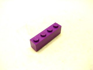 #3010 ブロック 1x4 【紫】 /Brick 1x4 :[Purple]