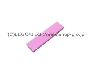#2431 タイル 1x4 フラット  【ブライトピンク】 /Tile 1x4  :[Bright Pink]