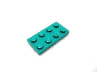 #3020 プレート 2x4 【ダークターコイズ】 /Plate 2x4:[Dark Turquoise]