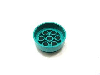 #2695 ホイール 30mm x 12.7mm 段付  【ダークターコイズ】 /Wheel Rim 30mmx12.7mm Stepped :【Dark Turquoise】
