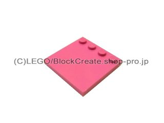 #6179 タイル 4x4 エッジスタッド  【ダークピンク】 /Tile 4x4 with Studs on Edge  :[Dark Pink]