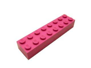 #3007 ブロック 2x8 【ダークピンク】 /Brick 2x8 :[Dark Pink]