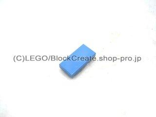 #3069 タイル 1x2 フラット  【ミディアムブルー】 /Tile 1x2  :[Md,Blue]