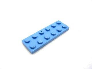 #3795 プレート 2x6 【 ミディアムブルー】 /Plate 2x6:[Md,Blue]