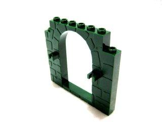 #40242 ドアフレーム 1x8x6  【濃緑】 /Door 1x8x6 Frame :[Dark Green]