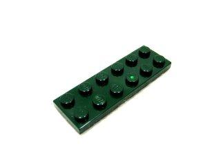 #3795 プレート 2x6 【濃緑】 /Plate 2x6:[Dark Green]