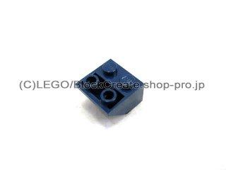 #3660 逆スロープ 45°  2x2 滑らか  【紺】 /Slope 45°  2x2 Inverted with Smooth Surface  :[Dark Blue]