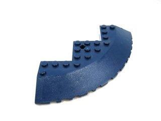 #58846 ブロック ラウンドコーナー 10x10 スロープ 33°ファセット 【紺】 /Brick 10x10 Corner Round :[Dark Blue]