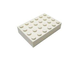 #2356 ブロック 4x6 【白】 /Brick 4x6 :[White]
