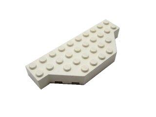 #30181 ブロック  4x10 コーナーカット  【白】 /Brick 4x10 without Two Corners  :【White】